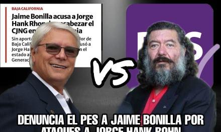 EL ANTIGUO ALIADO DE MORENA Y PADRINO DE JUDITH DÍAZ, EL LÍDER DEL PES, DENUNCIARÁ A JAIME BONILLA