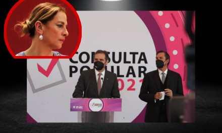 AFIRMA CÓRDOVA QUE BOLETAS DEL PRESIDENTE Y SU ESPOSA SE ENCUENTRA CERCA DE PALACIO NACIONAL