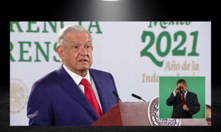 AMLO DICE QUE SI LEY SECUNDARIA DE REVOCACIÓN DE MANDATO NO HA SIDO APROBADA ES CULPA DE CARLOS SALINAS DE GORTARI<br>