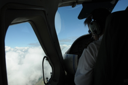 Flying to Turkana - Mr Pilot? Ooops, where is the map? Where are we?