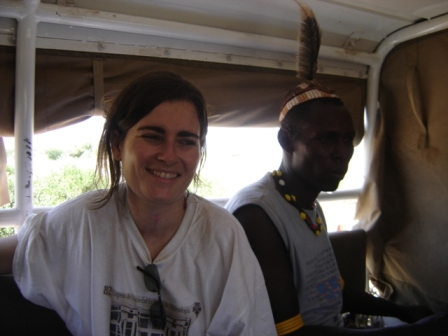 "Turkana, Kenya, 2007. ""My boyfriend? Chief, I do not think so"" I wonder why you would want a white woman in the middle of the desert! Completely useless!"