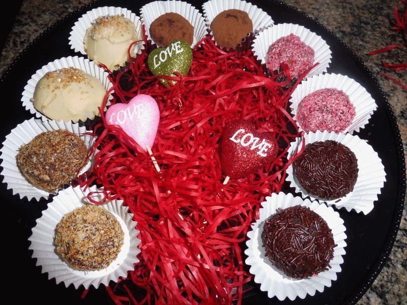 Trufas de chocolate 5 versiones | Especial San Valentín