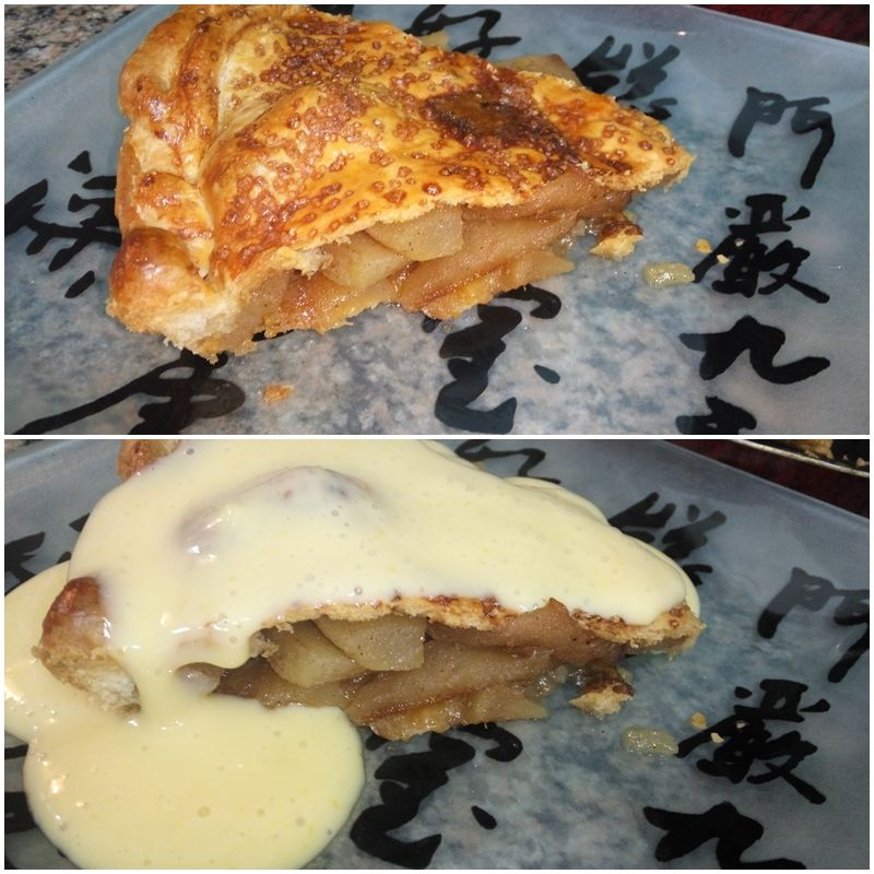 Apple pie | Tarta de manzana express