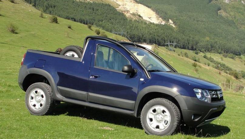 Dacia Duster I Romturingia