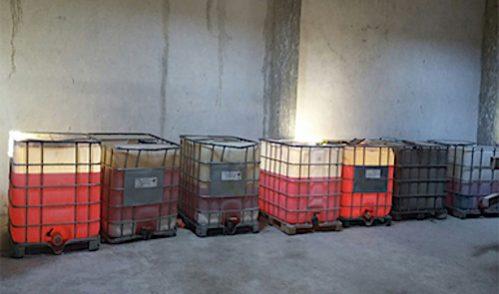 La PGR asegura en Lagos 70 mil litros de gasolina robada