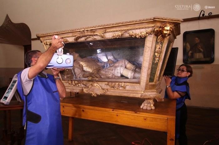 Estudio del INAH a San Hermión Martir. Foto del INAH