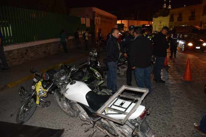 Operativo motociclistas Lagos de Moreno