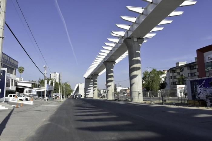 Obras de la línea 3 del Tren Ligero de Guadalajara