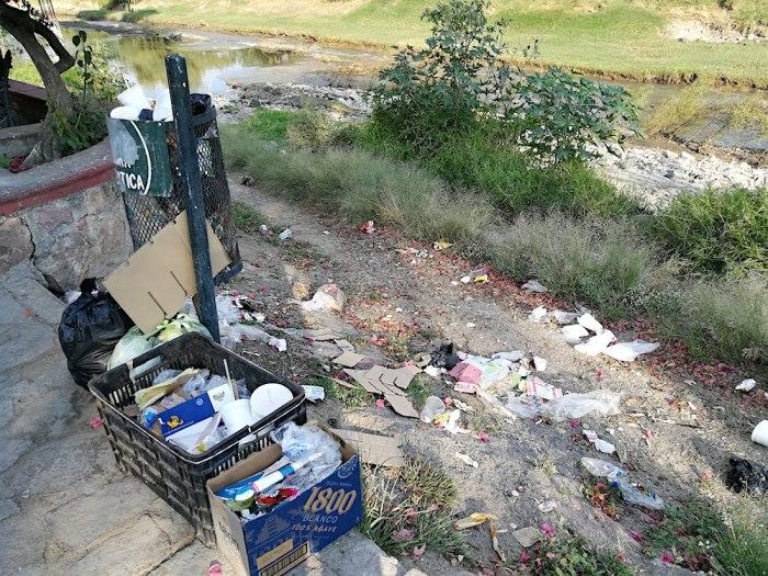 basura en Lagos de Moreno