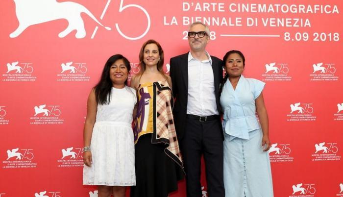 Protagonistas de Roma, de Alfonso Cuarón