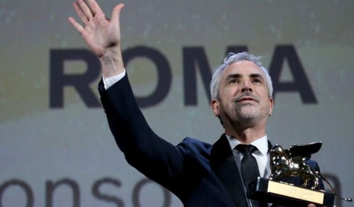 Alfonso Cuarón ganador del León de Oro por Roma