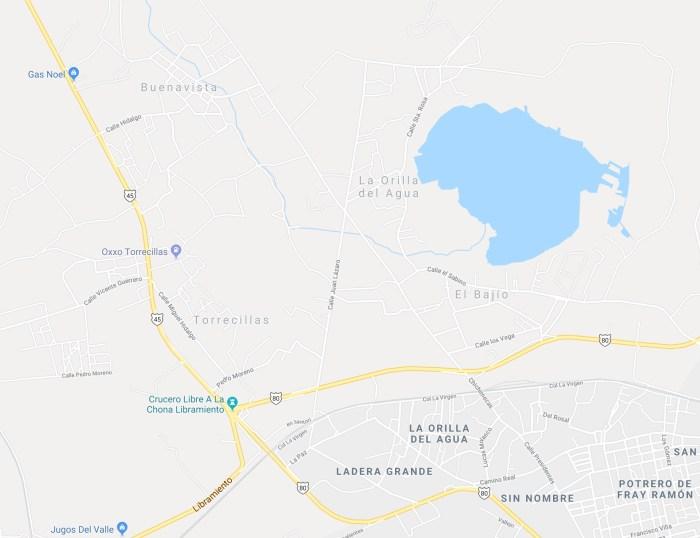 zona de fosas clandestinas en Lagos de Moreno
