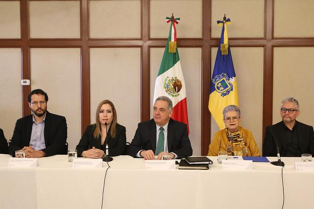 Blanca Jacqueline Trujillo Cueva nueva titular de la Fiscalía Especializada en Personas Desaparecidas. fue presentada en Casa Jalisco. Foto: Gobierno de Jalisco