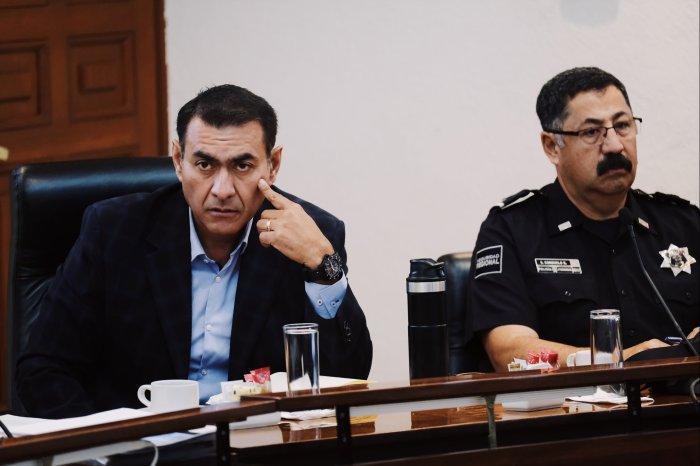 Reunión del Consejo Estatal de Seguridad