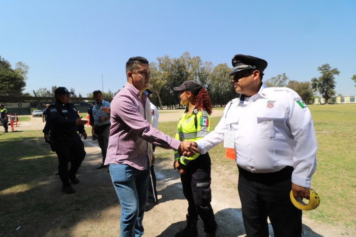 Tecutli Gómez, Presidente de Lagos de Moreno Policía Vial de Lagos de Moreno recibe capacitación