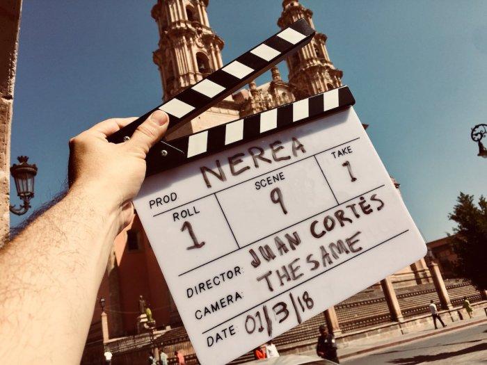Escenas de la película Nerea, grabada en Lagos de Moreno