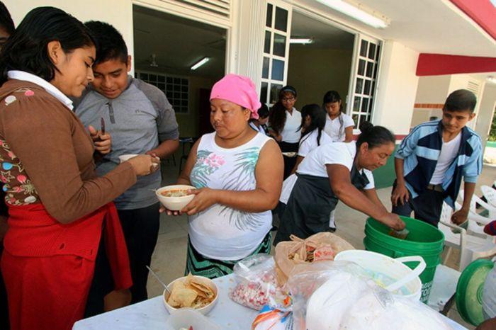 Comedor comunitario en Lagos de Moreno