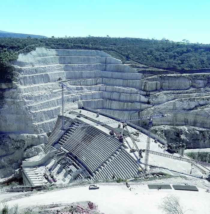 Presa El Zapotillo, en Jalisco
