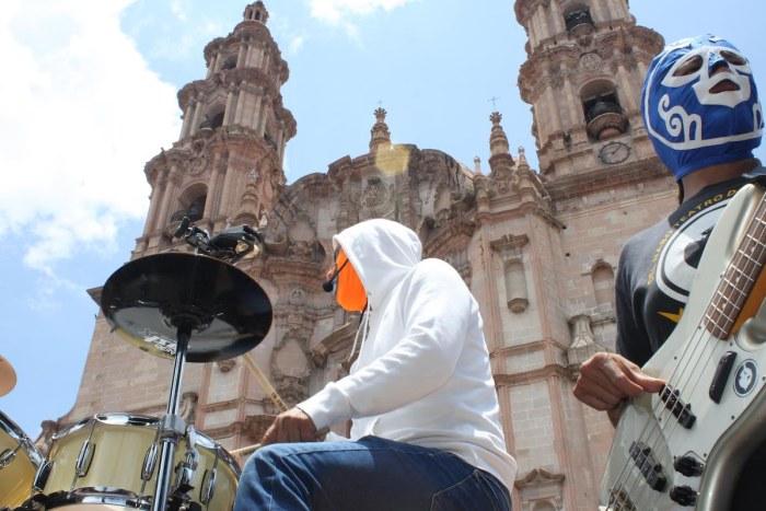 Banda La Carreta Loca en la entrega de programas de la Feria Lagos 2019