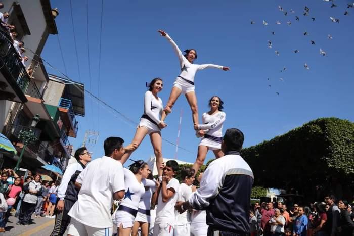 Desfile del 20 de Noviembre en Lagos de Moreno