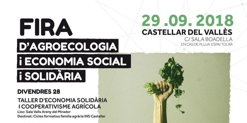 fira d'agroecologia i economia social i solidària