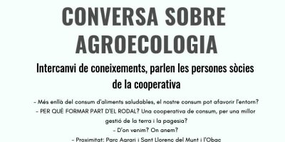 conversa sobre agroecologia