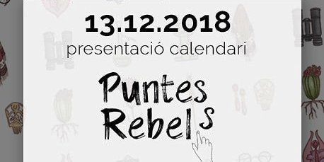 presentació del calendari puntes rebels