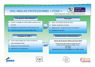 thumbnail of ACTION VISA ANGLAIS PRO FOAD