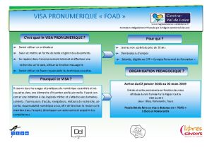 thumbnail of ACTION VISA PRONUMERIQUE FOAD