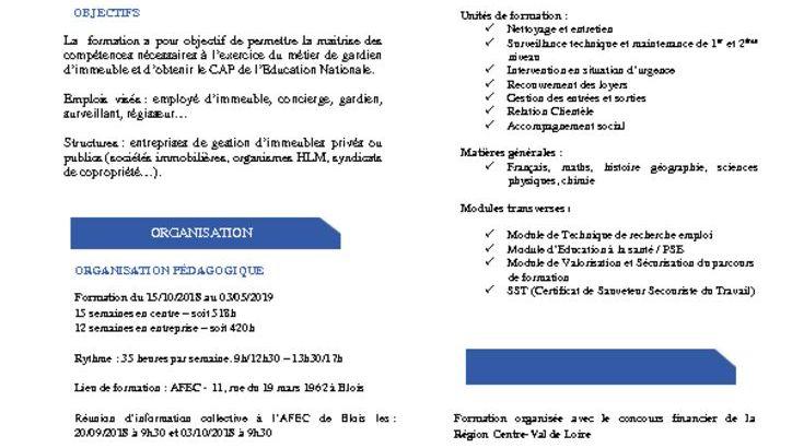 thumbnail of Fiche Formation – CAP Gardien d'immeubles