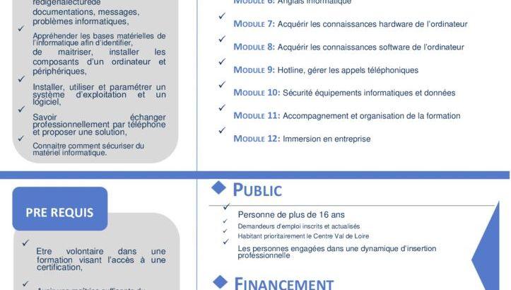 thumbnail of Fiche de presentation Technicien Informatique – 2