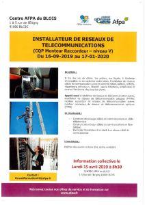 thumbnail of installateur réseaux comm