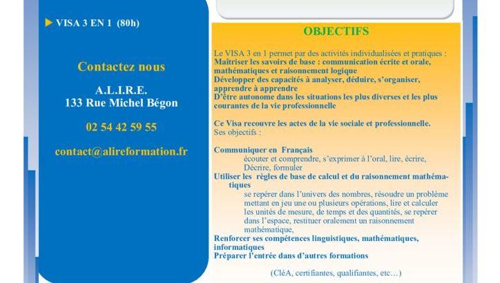 thumbnail of ACTION VISA 3EN 1 ST AIGNAN