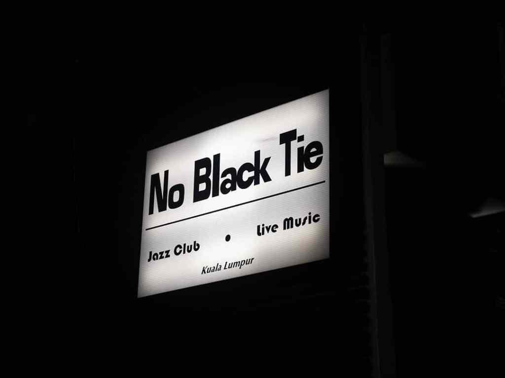 No Black Tie
