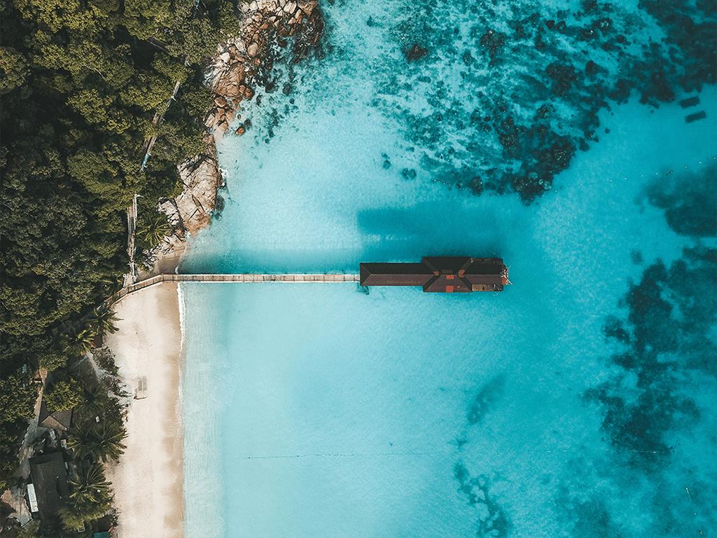 beach and sea perhentian islands