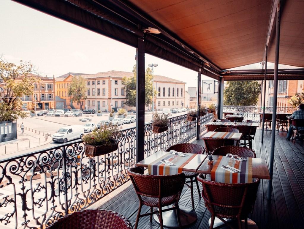 terrasse restaurant les terrasses de l'empereur