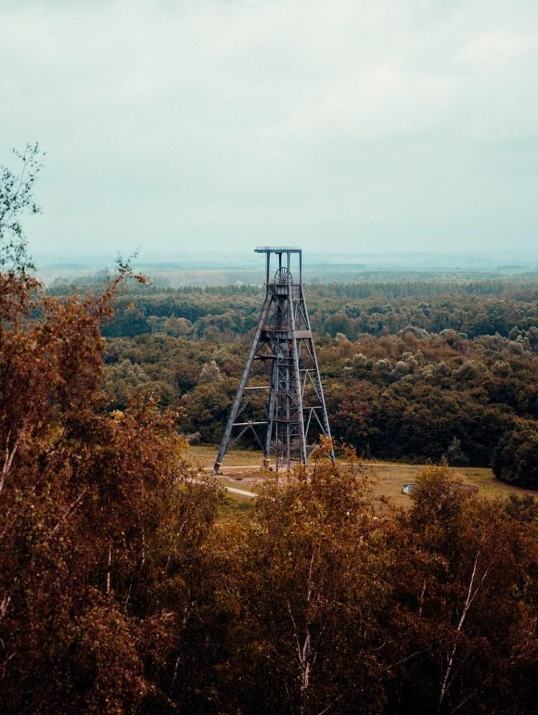 vue depuis le sommet du terril