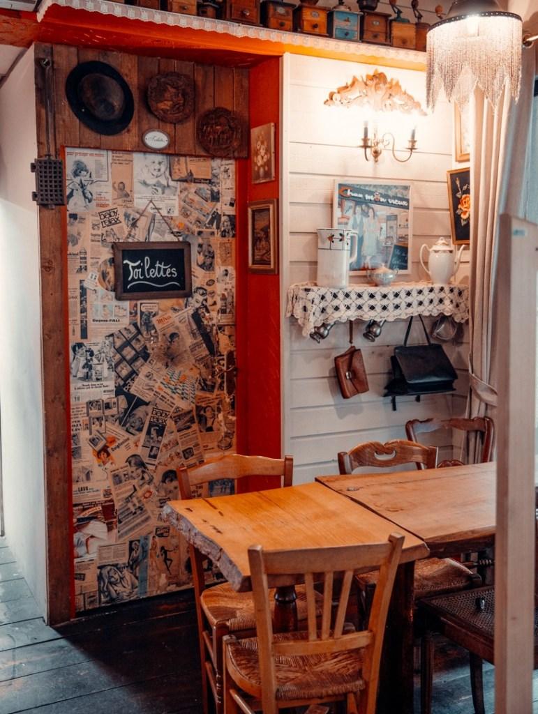 salle décorée restaurant