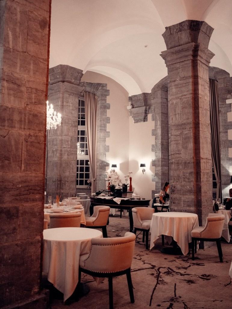 salle du restaurant la storia