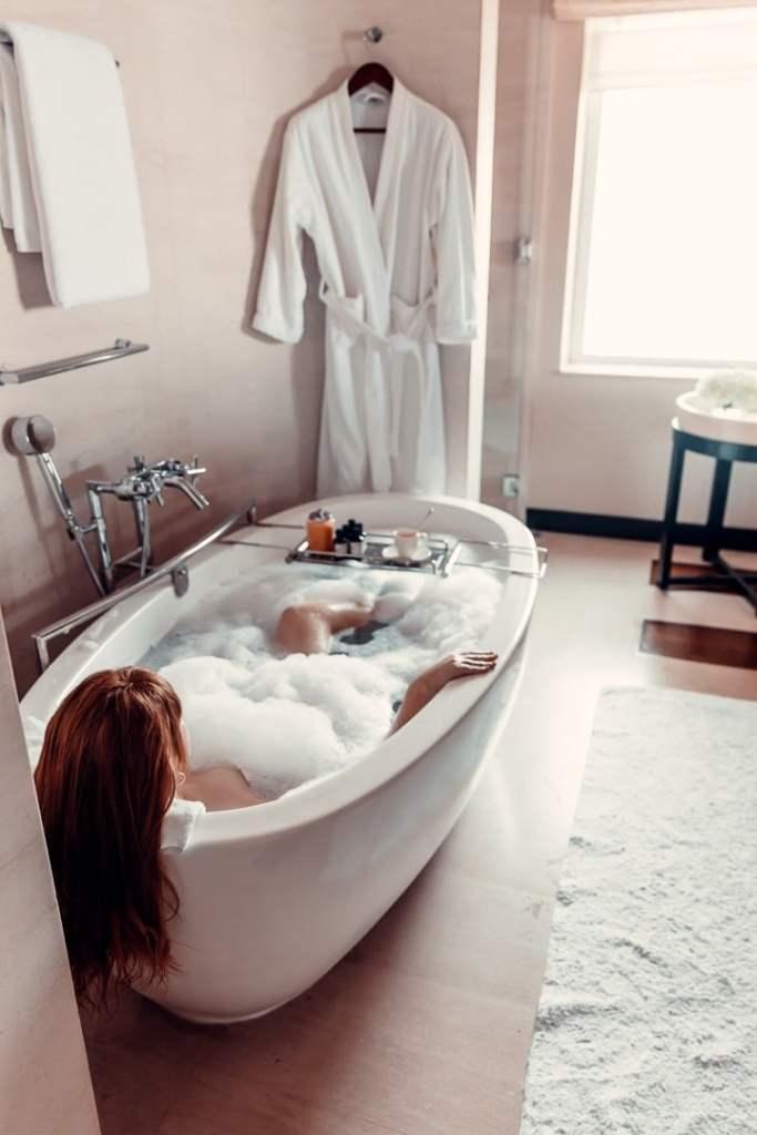 salle de bain park hyatt dubai