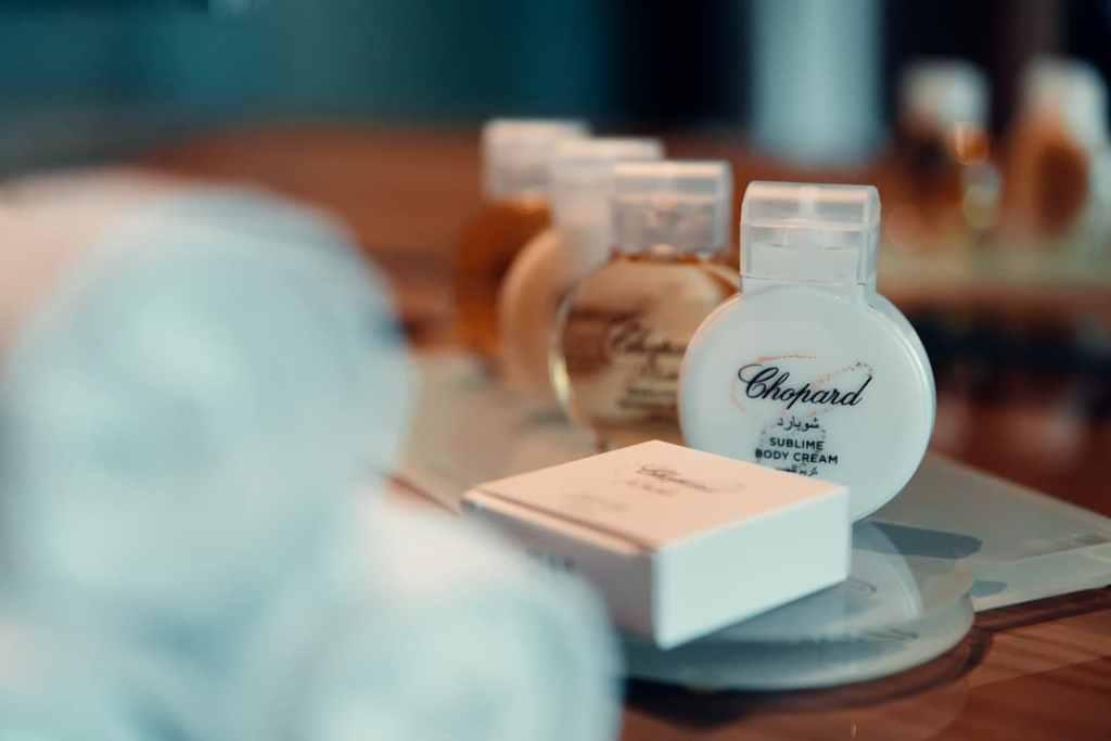 chopard toilettries