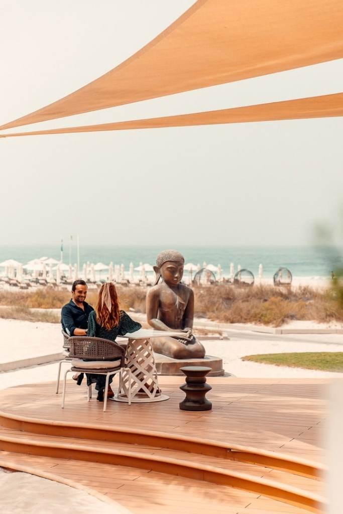 buddha bar beach st regis saadiyat