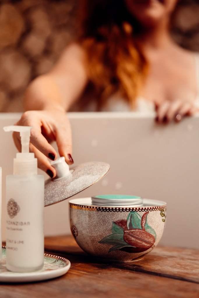 produit bain White Sand zanzibar
