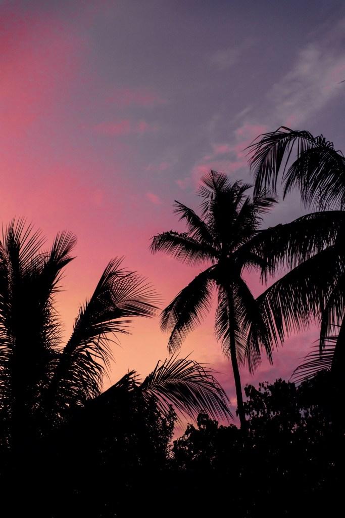 coucher de soleil White Sand zanzibar