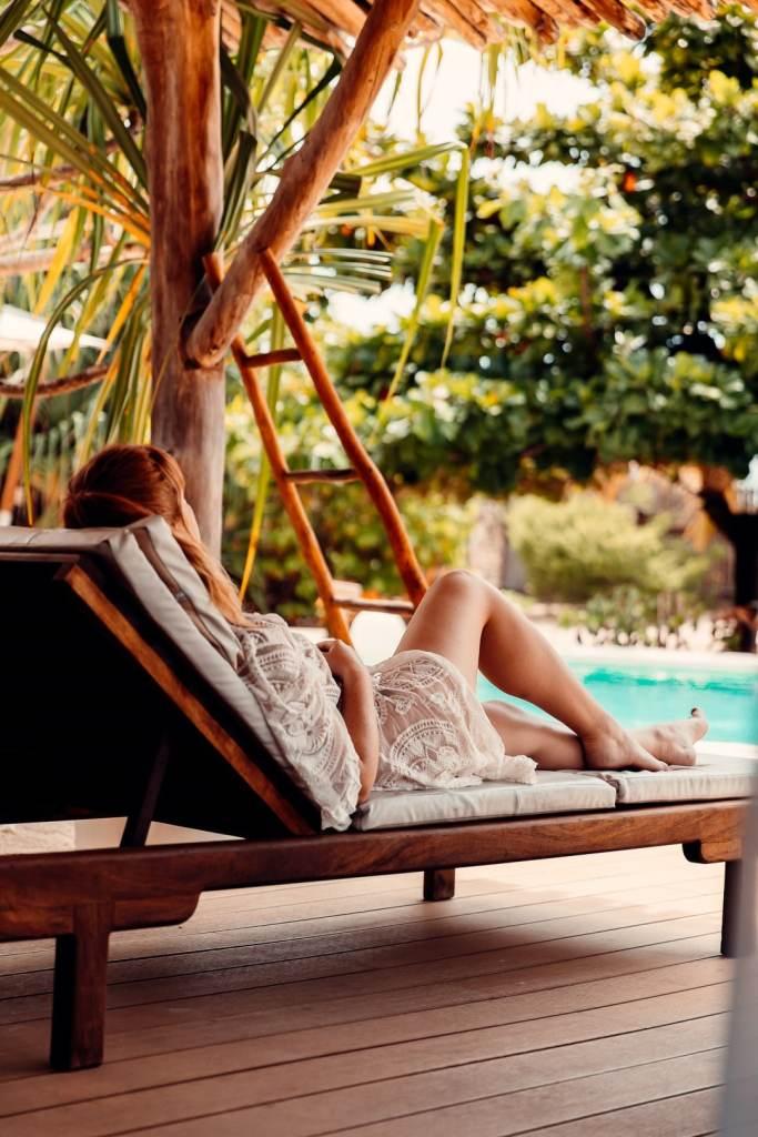 terrasse villa White Sand zanzibar