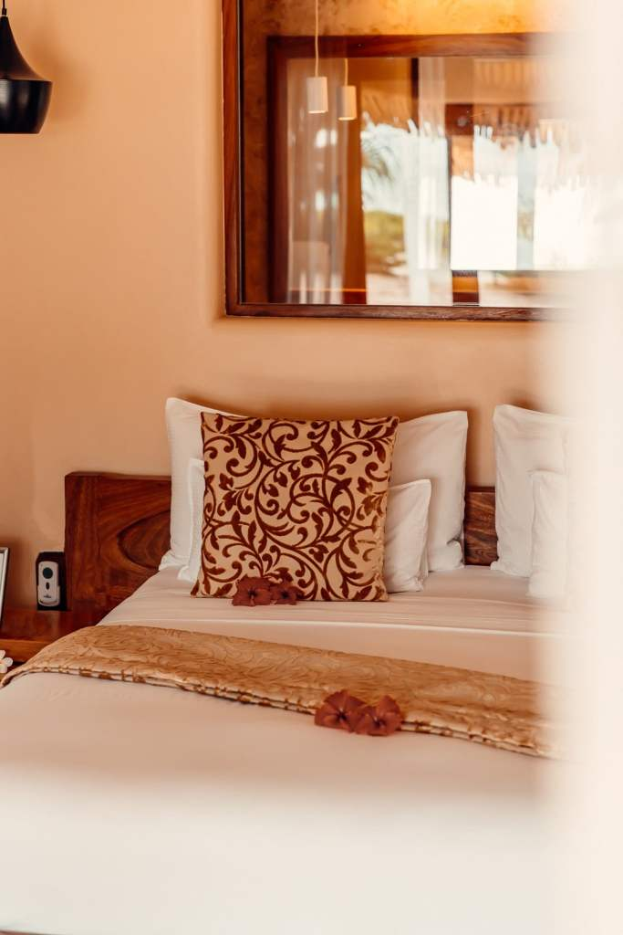 lit villa White Sand zanzibar