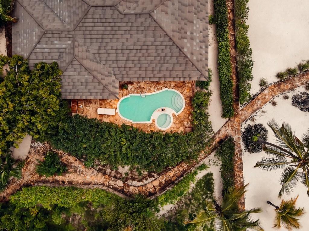vue drone villa the sands