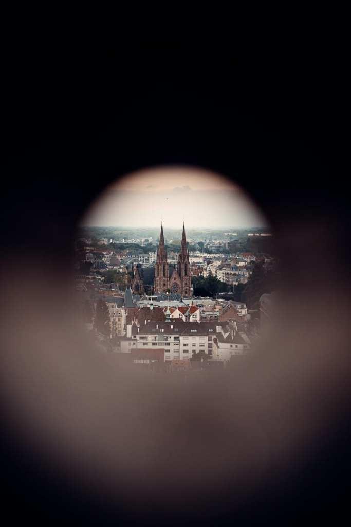 vue cathédrale strasbourg