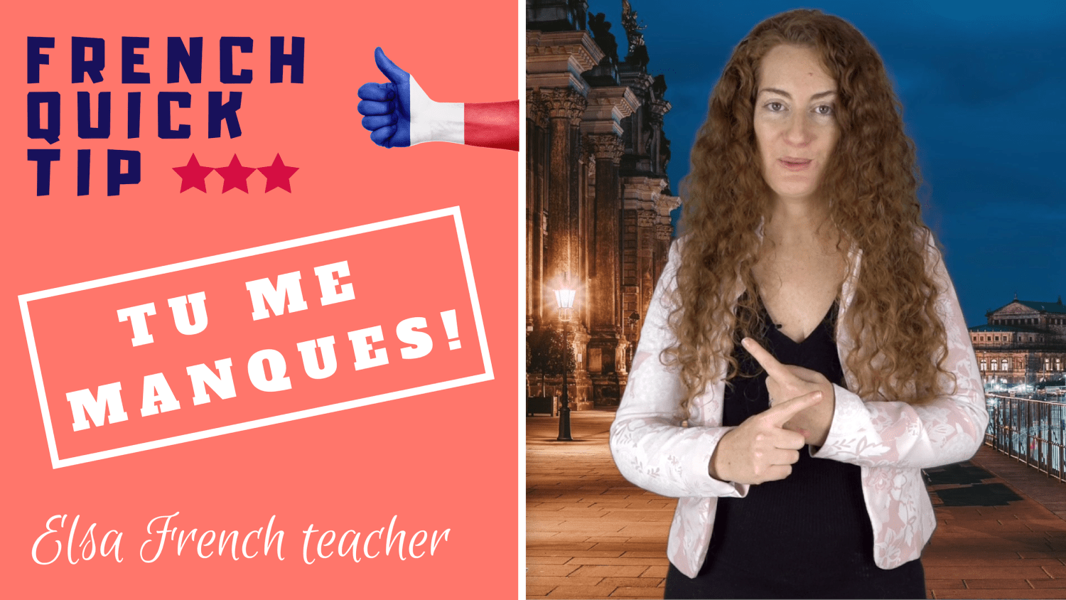 Learn how to use the verb manquer in French