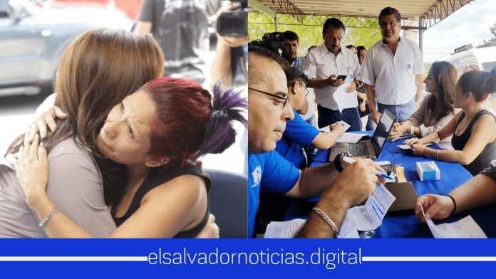 Michelle Sol, Ministra de Vivienda visita La Campanera en su recorrido por El Salvador